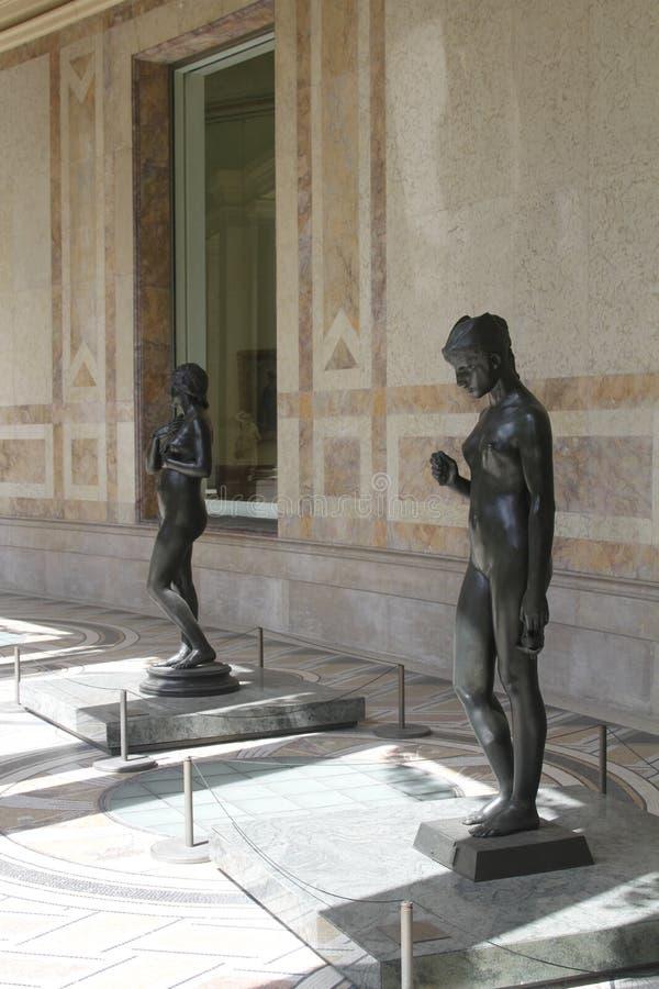 Wśrodku muzeum, Paris France obrazy stock