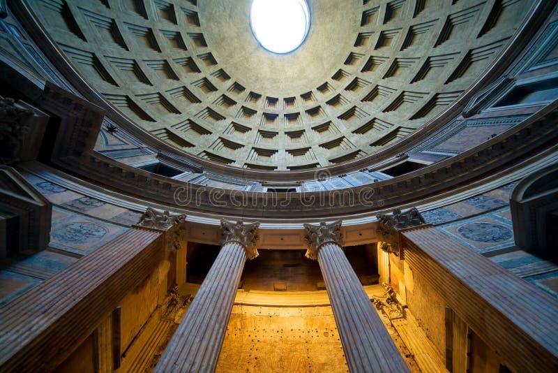Wśrodku Panteonu, Rzym obraz stock