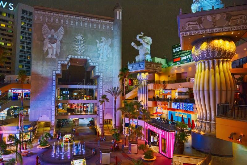Wśrodku powikłanego kodaka teatru Dolby fotografia royalty free