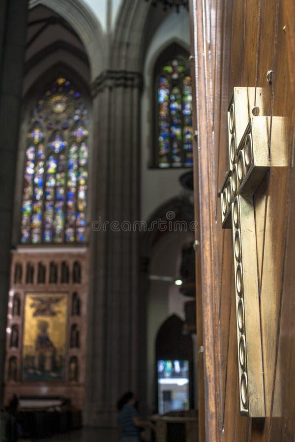 Wśrodku Se metropolita katedry obraz royalty free