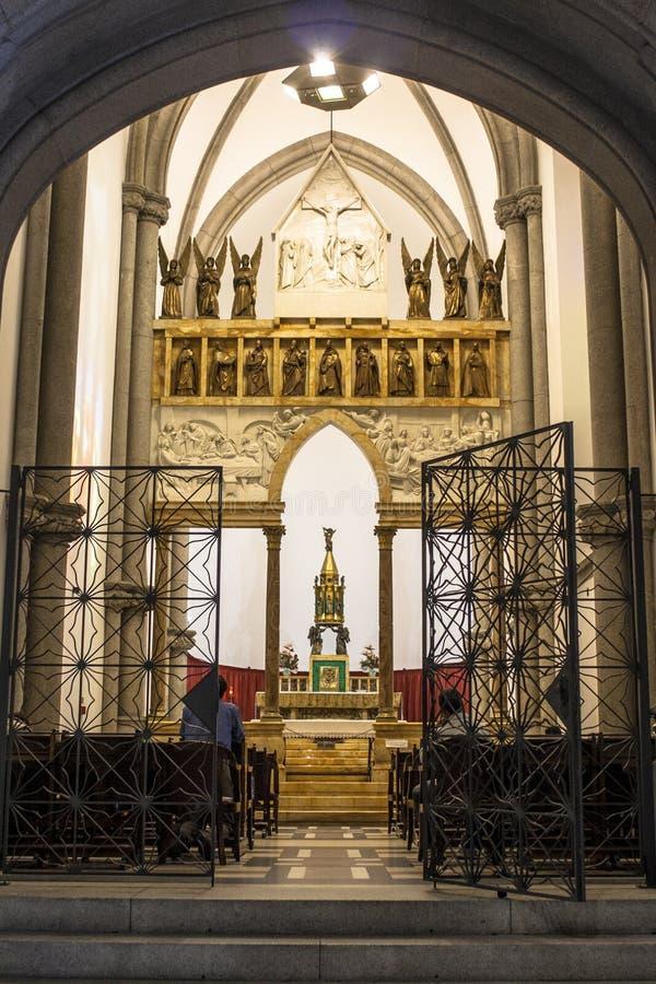 Wśrodku Se metropolita katedry zdjęcia royalty free