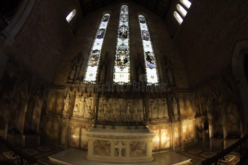Wśrodku St George ` s Katedralny Perth zachodnia australia, Australia,/ fotografia royalty free