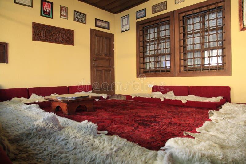 Wśrodku sufi tekke, muzułmański monaster jakby zdjęcia royalty free