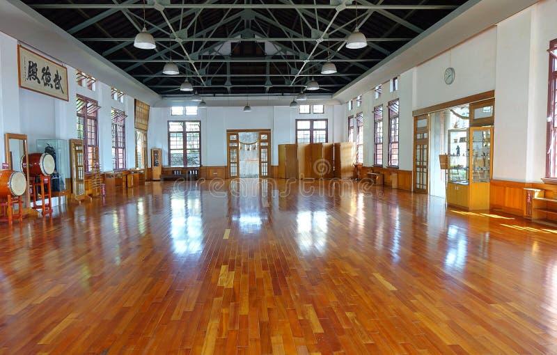 Wśrodku Wu De sztuk samoobrony Hall fotografia royalty free