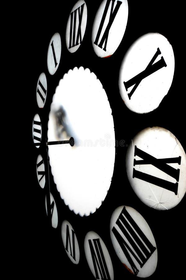 Wśrodku zegarowy wierza zdjęcie royalty free