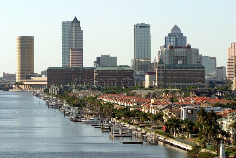 w śródmieściu Tampa zdjęcie stock