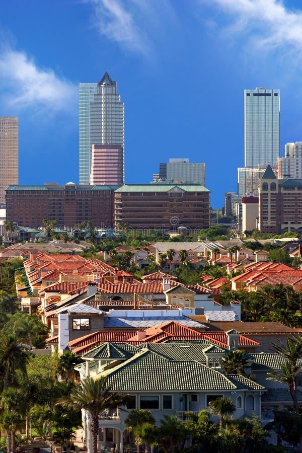 w śródmieściu Tampa zdjęcie royalty free