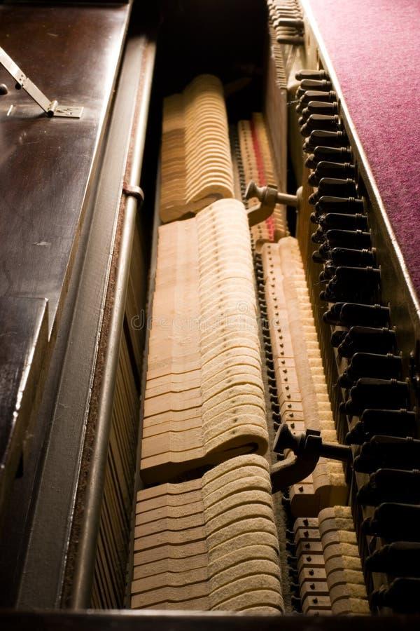 w środku pianino zdjęcia stock