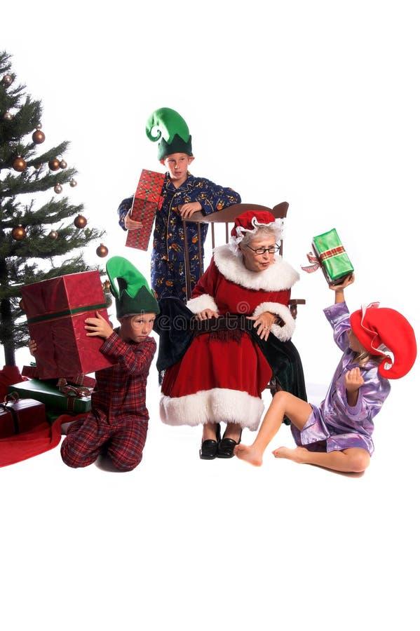 w świąteczny poranek zdjęcie stock