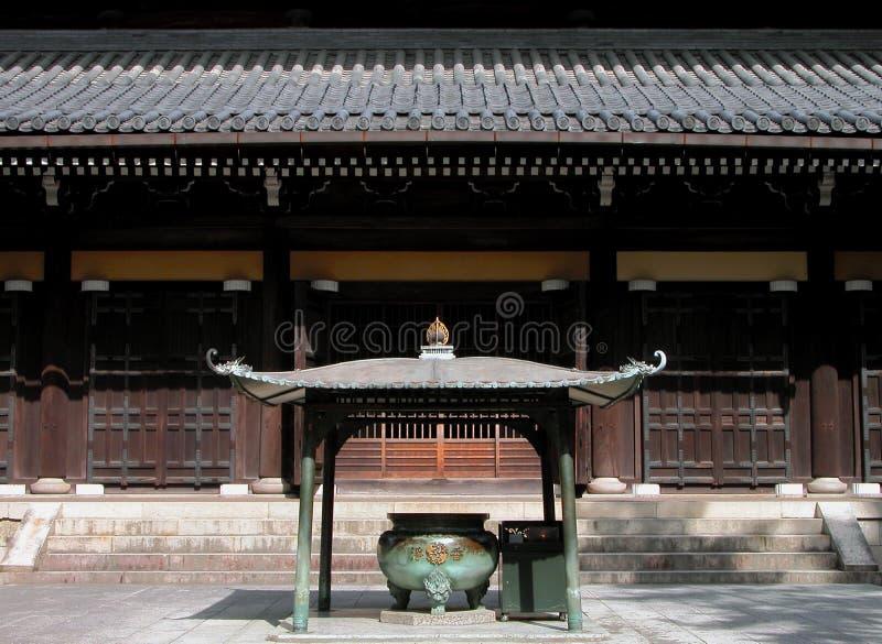 Download W świątyni zdjęcie stock. Obraz złożonej z japonia, wallah - 38086