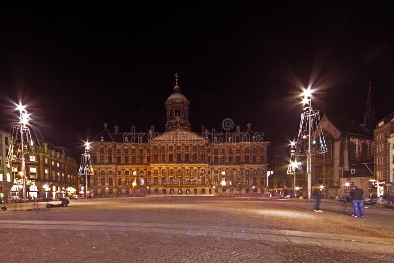 W Amsterdam grobelny Kwadrat Nethe obrazy royalty free
