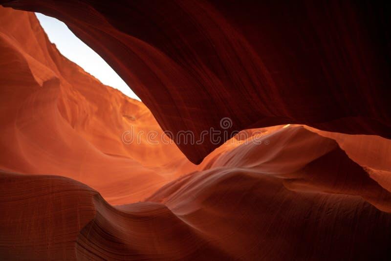 W Arizona szczelina jar zdjęcie stock