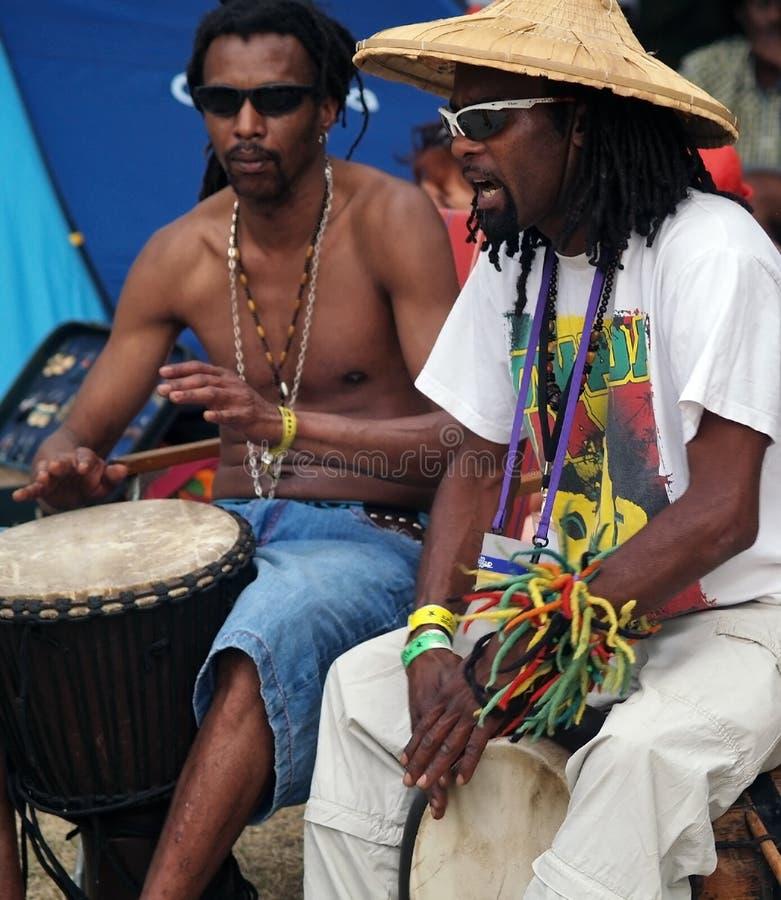 W Bagnols sur reggae Festiwal 2012 Ceze, Francja zdjęcia stock