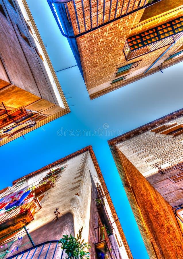 W Barcelona w Hiszpania zdjęcie stock