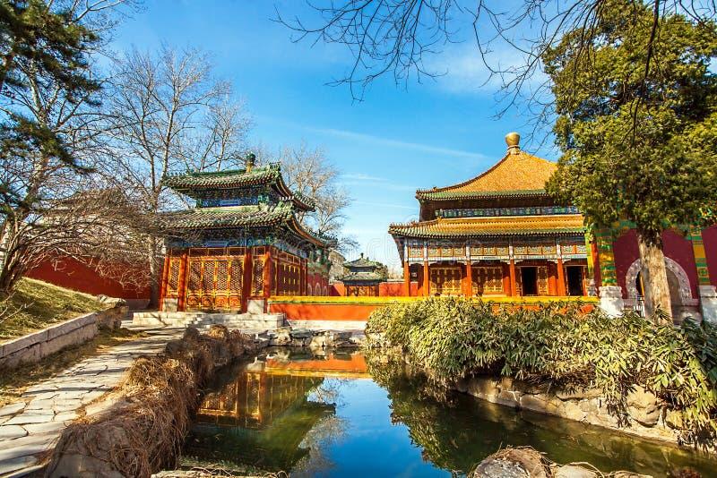 W Beihai parku w Pekin fotografia stock