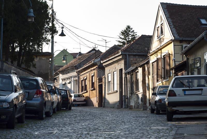 W Belgrade Zemun ćwiartka obraz royalty free