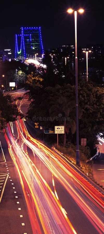 W Brisbane opowieść Most obrazy stock