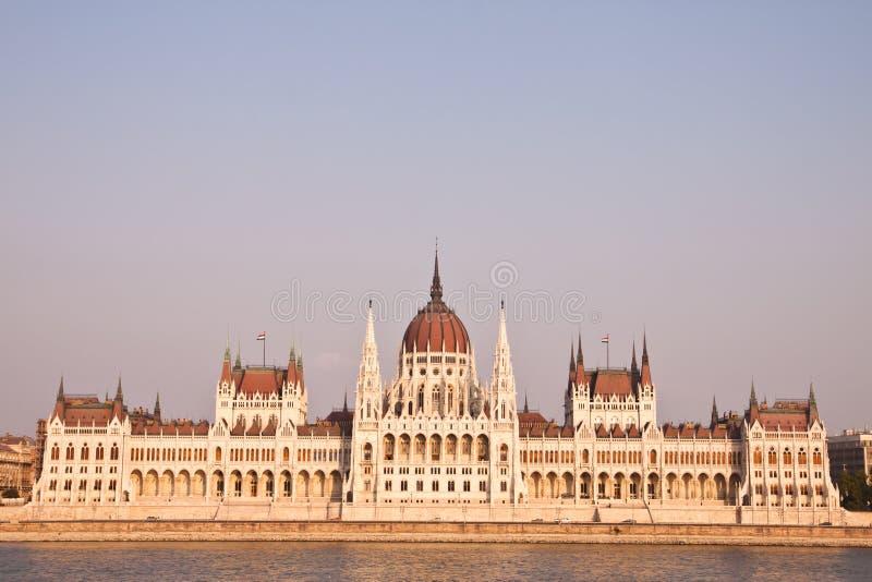 W Budapest węgierski parlament, Węgry fotografia stock
