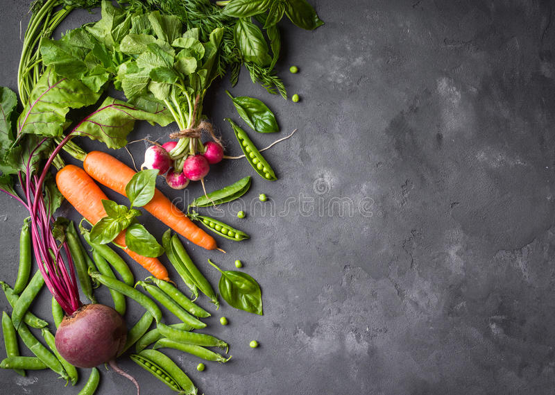 w cabbadge świeżej marchwiana pieprzone warzywa kukurydzy obrazy stock