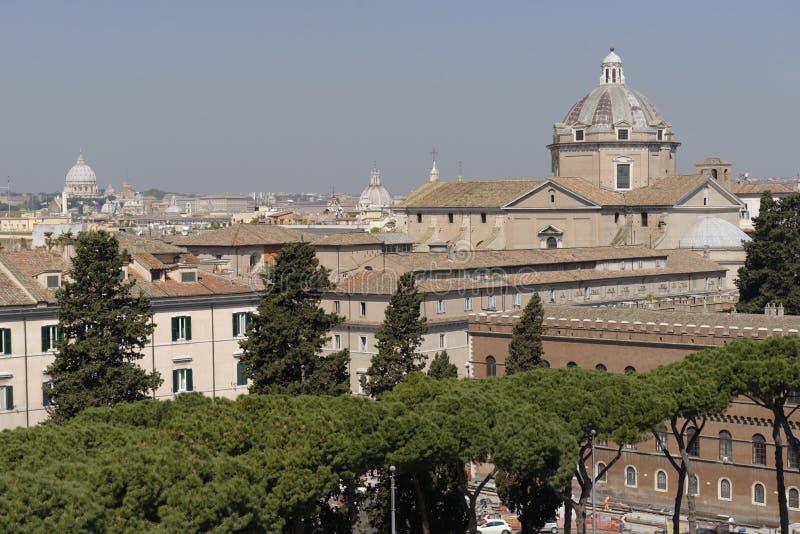 w celu Rzymu obraz royalty free