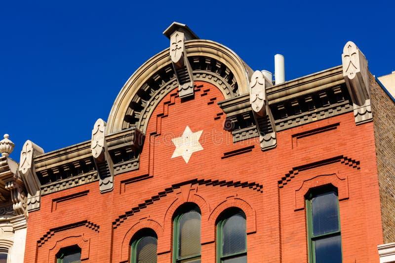 W centrum Austin architektura fotografia royalty free