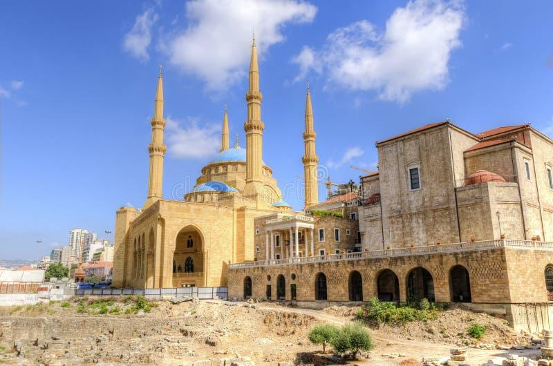 W centrum Bejrut, Liban zdjęcia royalty free