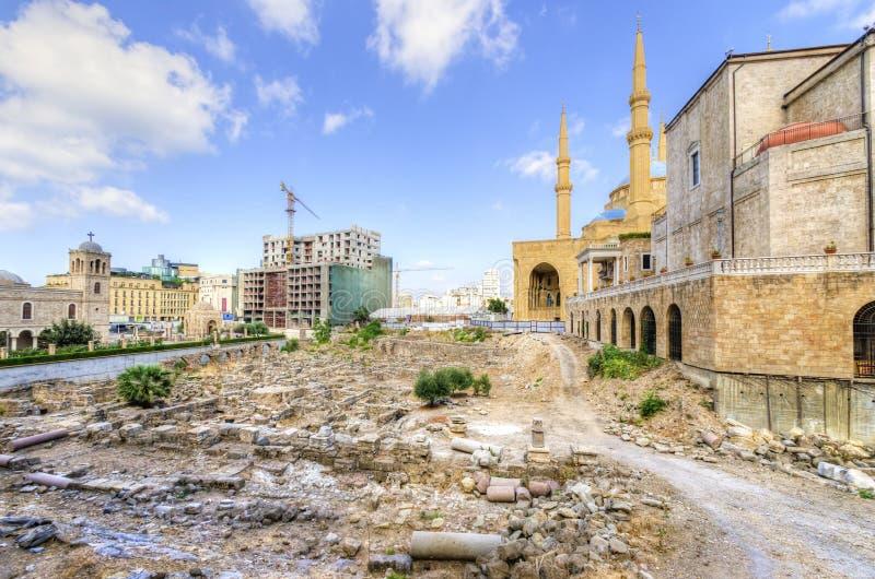 W Centrum Bejrut, Liban Obraz Royalty Free