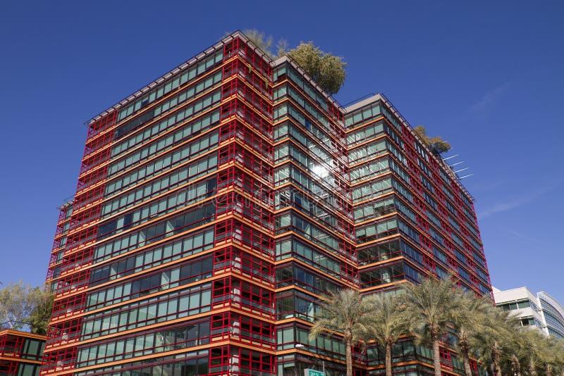 W centrum biura I mieszkania własnościowego budynki fotografia stock