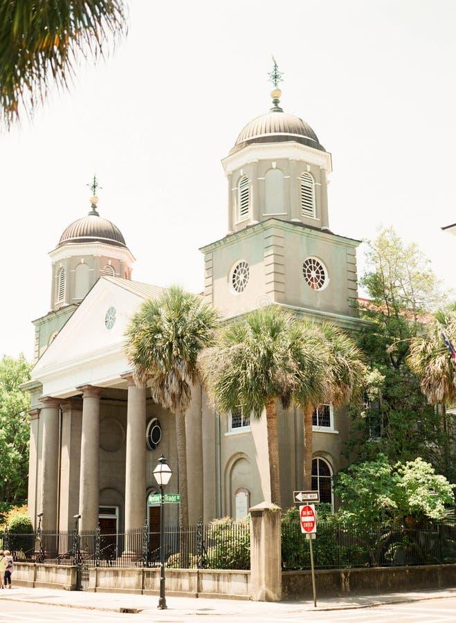 W centrum Charleston obrazy stock