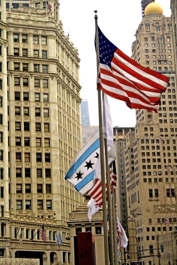 W centrum Chicago fotografia royalty free