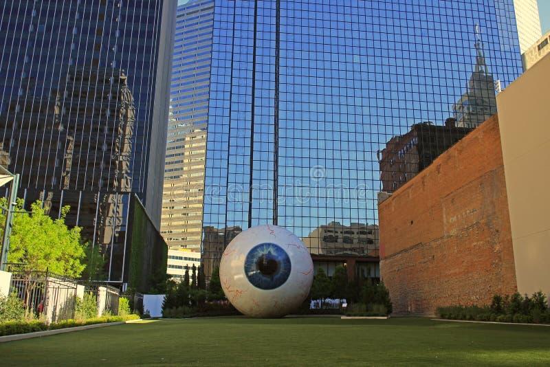 W centrum Dallas:  zdjęcie stock