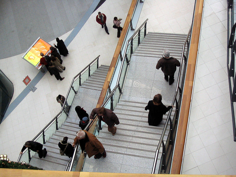 w centrum handlowym zakupów zdjęcie royalty free
