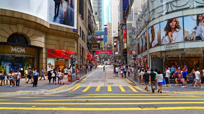 W centrum Hong kong fotografia stock