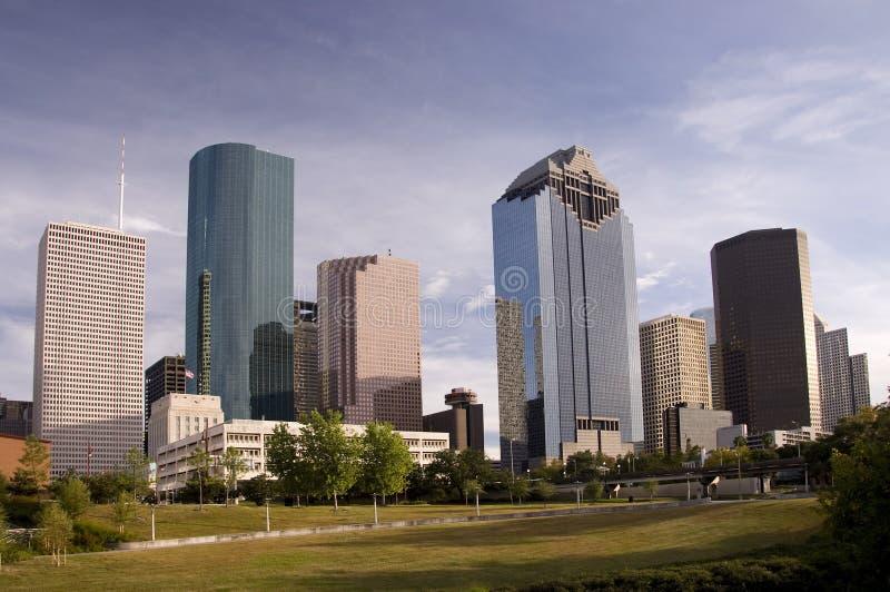 Download W centrum Houston obraz stock. Obraz złożonej z architektury - 13334755