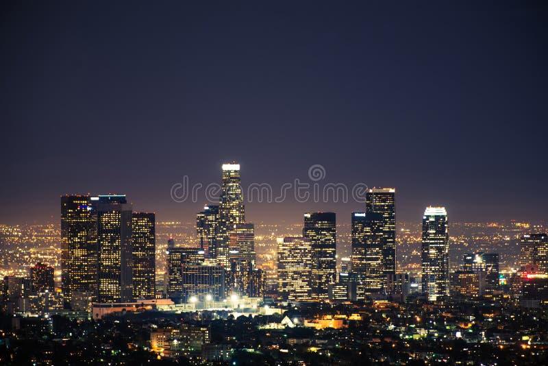W centrum Los Angeles usa zdjęcie royalty free