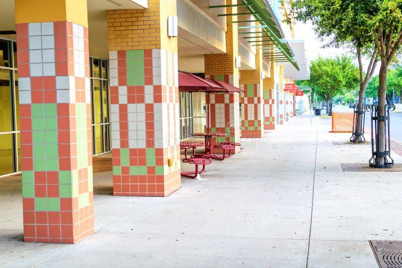 W centrum McAllen, Teksas obrazy royalty free