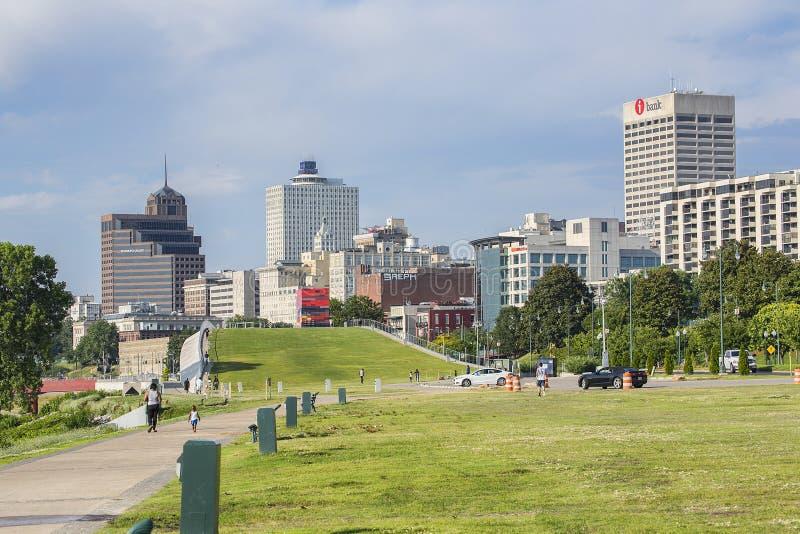 W centrum Memphis obraz royalty free