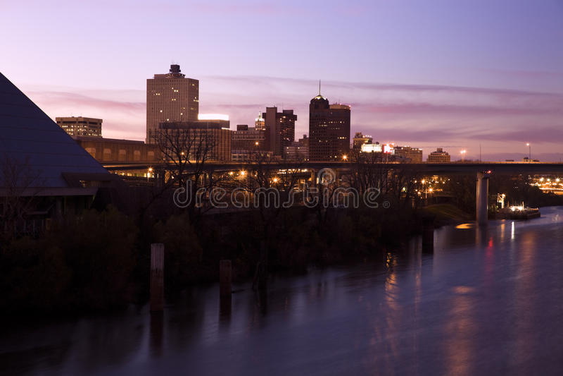 w centrum Memphis Tennessee usa fotografia stock