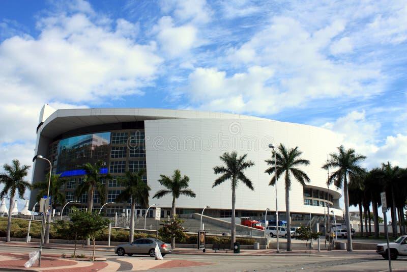 w centrum Miami zdjęcia royalty free