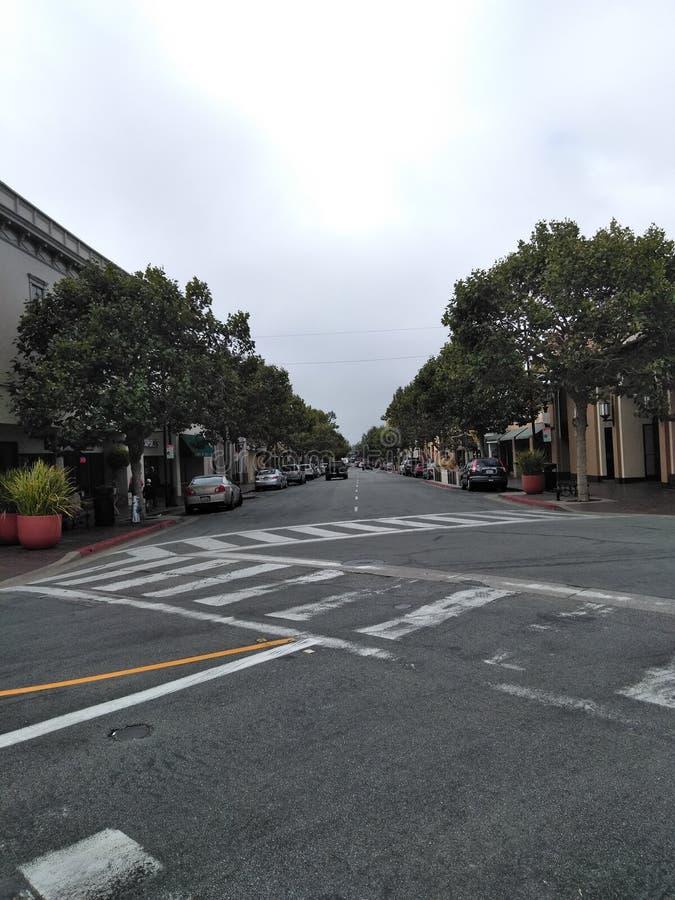 W centrum Monterey obraz stock