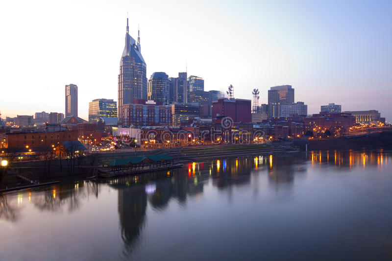 w centrum Nashville Tennessee zdjęcia royalty free
