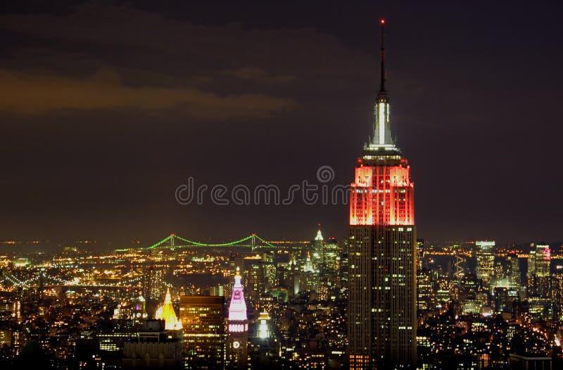 w centrum nowego Jorku obraz royalty free