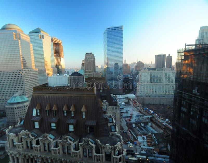w centrum nowy York zdjęcia stock