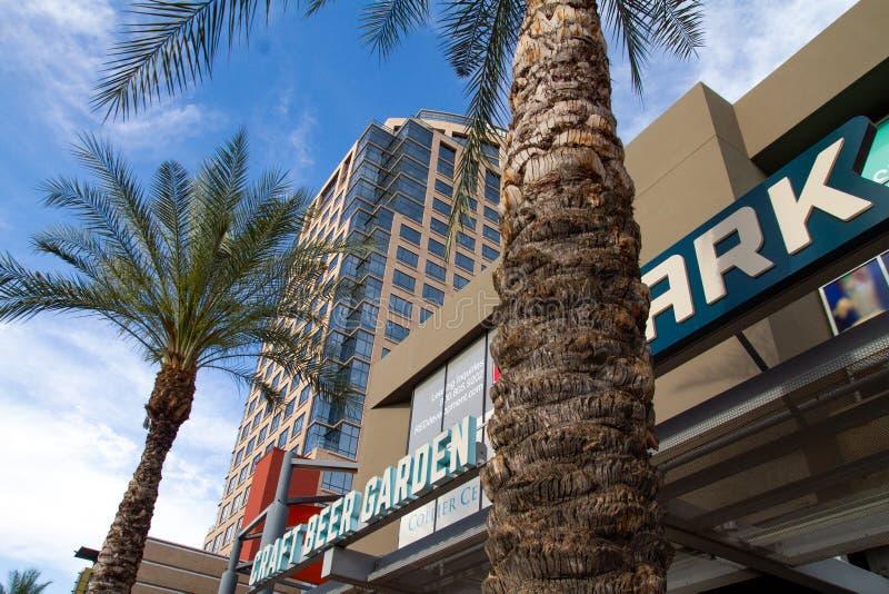 W centrum Phoenix, Arizona, usa zdjęcie stock