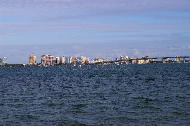 w centrum Sarasota zdjęcia royalty free
