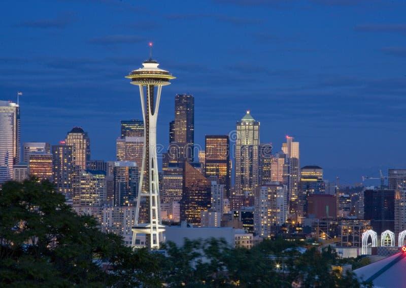 w centrum Seattle zdjęcie royalty free