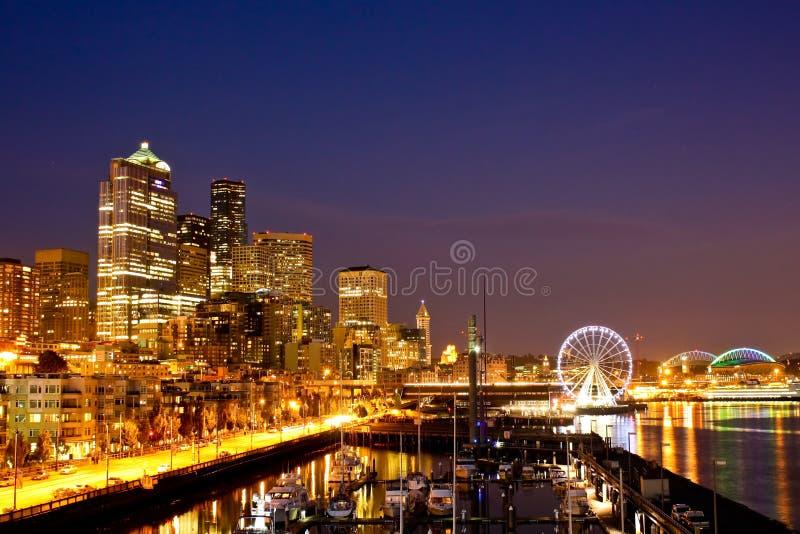 W centrum Seattle zdjęcia stock