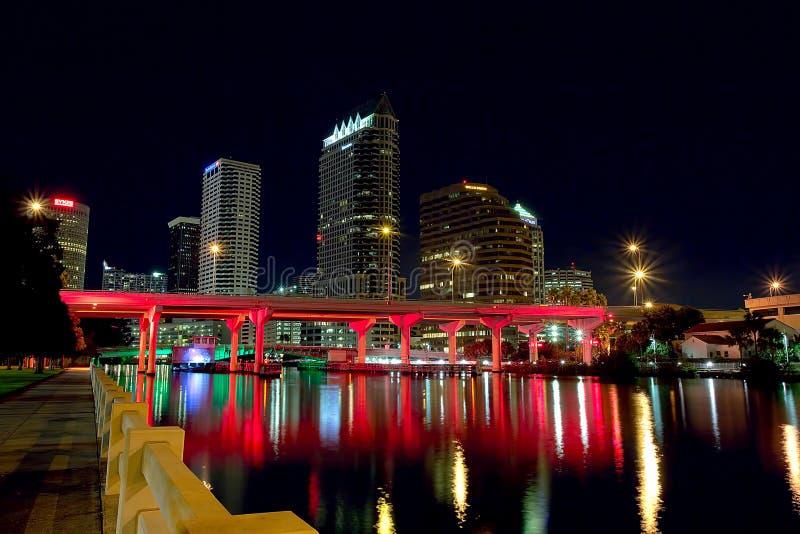 w centrum Tampa fotografia stock
