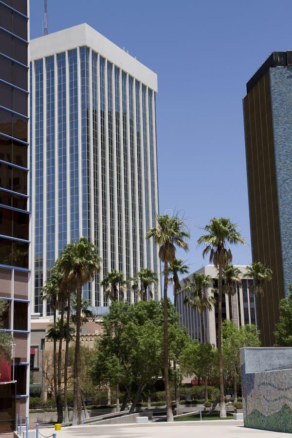 W centrum Tucson Arizona obrazy royalty free