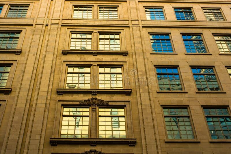 W centrum Windows zdjęcia stock